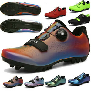 MTB Self-Locking Cycling Shoes Outdoor Road Bike Racing Sneakers Bicycle Shoes
