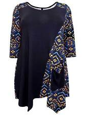 Hip Length Plus Size Tunic, Kaftan Tops & Shirts for Women