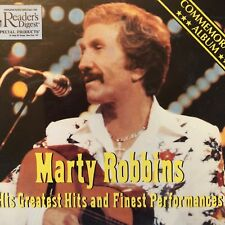 Set of 3 CDs Readers Digest Marty Robbins Greatest Hits Finest Performances 1983