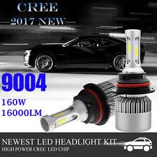 2x 9004 HB1 160W LED Headlight Kit Bulb For Dodge Ram 1500 2500 Hi/Lo Beam Light