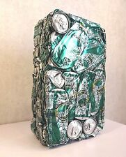 "Sculpture Design Art Contemporain Vert Compression Urbain ""SparKling"" -  PERRIER"