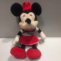Parisian French Minnie Mouse Plush Toy - Plays Music - Disney Land Paris