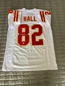 Dante Hall Signed Autographed Jersey Kansas City Chiefs PSA DNA