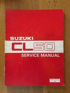 Suzuki  CL50 Love  Workshop service manual , See below