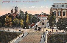 B78084 bucuresti calea rahovei tramway tramvai biserica domnita balasa  romania
