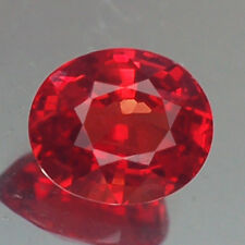 0.98CT CHARMING VVS AA OVAL FIERY RED RUBY NATURAL