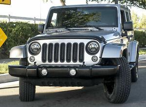 KBD Durable Urethane Factory/EO Design Front Bumper Fits Jeep Wrangler JK 07-18