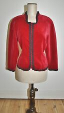 Vintage 80's Home Made Velvet Evening Jacket