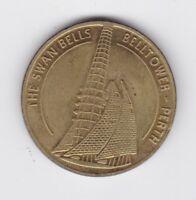 Swan Bells Belltower Perth Western Australia Souvenir Coin WA Q-301