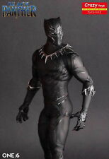 Crazy Toys 1/6 Scale Marvel Comics Black Panther Figurine Toy Doll Statue