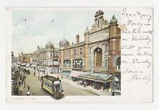 Leeds,U.K.Briggate,Trolley Car,Empire Palace,West Yorkshire,Used,Leeds,1903