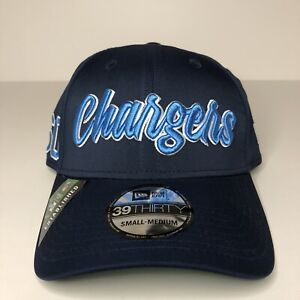 NEW Los Angeles Chargers Hat New Era Blue Side Patch NFL Small Medium Men