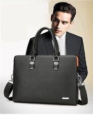 Men's Large Leather Laptop Briefcase Business Office Messenger Bags Handbags