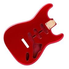 Candy Apple Red Stratocaster Electric Guitar Body - 2 Piece American Alder