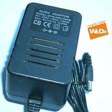 Adaptador de corriente AC/DC SF48-0602100DB 6V 2.1A 12.6VA enchufe de Reino Unido