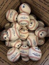 30 Rawlings Used Major League Baseballs Real Leather