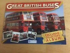 ATLAS EDITIONS GREAT BRITISH BUSES EXCLUSIVE COLLECTOR'S ALBUM UNUSED
