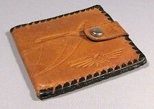 Wallet AEROFLOT Pilot Russian Old Vintage Airline Leather Coin Purse