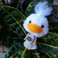 Handmade chicken doll Pompom doll