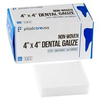 Dental Gauze Pads Squares For First Aid Sponges 4x4 Non Woven Medical Wipes