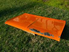 1972 1973 Plymouth Gold Duster Deck Lid Trunk lid Sper clean Orignal  Mopar Dart