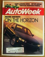 AUTOWEEK 1991 OCT 28 - V8 M-B 400, J30, MX-3 GS, REDMAN