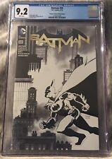 Batman #50 (D.C. Comics, 5/16) CGC Graded 9.2. Newbury Comics Sketch Edition