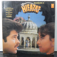 Hifazat R D Burman Vinyl LP Record Bollywood Hindi Soundtrack 1987 Indian EX