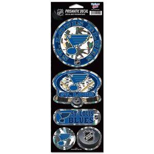 ST Louis Blues Stickers Prismatic Reflective Decals