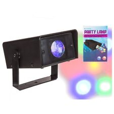 Partylicht Partylampe 7 LED's Disco Projector DJ Licht Bühnenbeleuchtung NEU/OVP