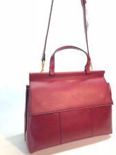 Tory Burch Block-t Leather Satchel Women Handbag