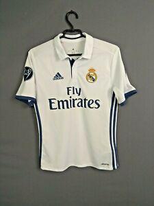 Real Madrid Jersey 2016 2017 Home Boys Kids 13-14 y Shirt Adidas AI5191 ig93