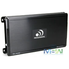 MASSIVE AUDIO B1000.1 1000W MAX BLADE-Series MONOBLOCK CAR AUDIO AMPLIFIER AMP