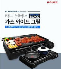 Ranee Sun Burner Portable Wide Barbecue Grill