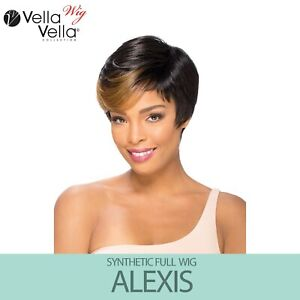 Sensual Collection Vella Vella Synthetic Full Wig - ALEXIS