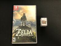 The Legend of Zelda: Breath of the Wild for Nintendo Switch with Bonus NFC Cards