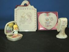 Lot Of 4 Precious Moments Other Items