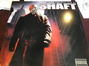SHAFT SOUNDTRACK MUSIC FROM AND INSPIRED BY 2 LP SAMUEL L JACKSON DJ PROMO