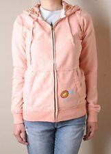Paul Frank Kiwi Vintage Full Zip Hoodie (S) Peach