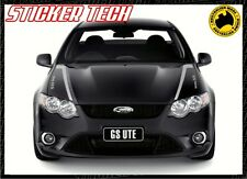 FORD FALCON FG GS BOSS 315 GT 2011 BONNET STICKER DECAL XR6 XR8 V8 TURBO