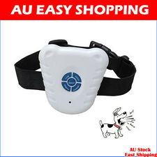 Ultrasonic Anti Barking Dog Collar Collars Training STOP Shock Control Free ship