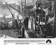 """Young Sherlock Holmes"" vintage movie photo, Nicholas Rowe, Alan Cox 1985"