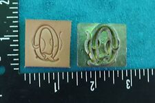 """LEATHER TOOLS/**CRAFTOOL (1"""") INCH ALPHABET REPLACEMENT LETTER STAMP ( Q )  **"""