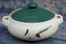 Denby Greenwheat Lidded Tureen or Vegetable Dish - 1960s design by A.College -