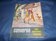 Vintage 1965 Converse Basketball Yearbook 44th Edition Rick Barry/Bill Bradley P