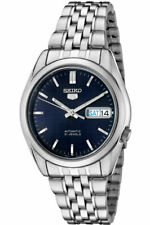 Seiko 5 SNK357 Automatic Blue Dial Stainless Steel 21 Jewels Mens Watch SNK357K1