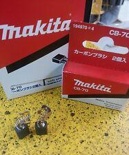 ORIGINAL BRUSH carbón Makita CB-70 set 2 brushes