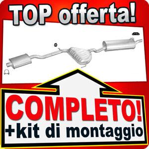 Scarico Completo per ALFA ROMEO 146 1.4 1.6 1.8 2.0 16V Twin Spark 97-00