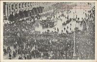 War Scene in Russia's Capital - Moscow c1910 Postcard