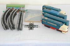 More details for vintage model train bandai no.413 us streamliner & vista dome observation coach